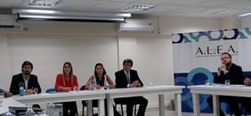 El evento se llevó a cabo en la sede porteña de ALEA.