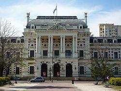Casa de Gobierno de la Provincia de Buenos Aires.