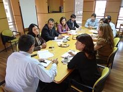 Una de las reuniones que mantuvieron la UAF y Aduanas.