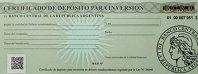 Certificados de Depósito de Inversión.