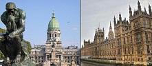 El Congreso argentino y la Casa de los Comunes británica.