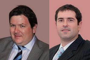 Andrés Kores y Guillermo Zocco Vidal, socios de Fidesnet.