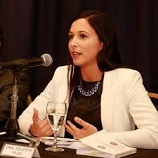 María Celeste Pleé, directora de supervisión de la UIF, integró el panel.
